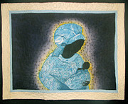 Child Tapestries - Textiles Prints - Precious Precious #2 Print by Aisha Lumumba
