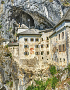 Slovenia Photos - Predjama Castle by Alan Toepfer