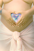 Adoration Photo Prints - Pregnancy Session Print by Marius Sipa