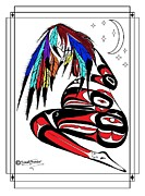 Speakthunder Berry Posters - Prego Feathers Poster by Speakthunder Berry