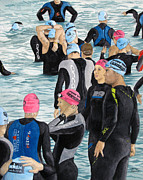 Athletic Painting Originals - Preparation by Tanya Petruk