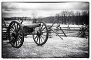 Civil War Cannon Prints - Preparations Print by John Rizzuto