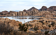 Prescott Prints - Prescott Arizona Winter Dells I Print by Lee Craig