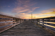 Prescott Photo Prints - Prescott Park Boardwalk Print by Eric Gendron
