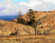 Prescott Prints - Prescott Rest Print by Larry Oskin