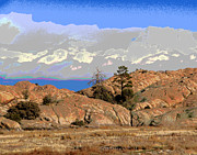 Prescott Prints - Prescott View Print by Larry Oskin
