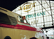 Bahn Posters - Preserved Trans Europe Express at Cologne Station 1980s Poster by David Davies