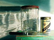 Canning Jar Framed Prints - Preserving Framed Print by Denny Bond