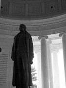 Thomas Jefferson Prints - President Mr. Jefferson Print by Mark Szep