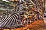 Presidential Digital Art Prints - Presidential Train Henry Ford Museum Dearborn MI Print by Photographartist Nicholas Grunas