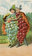 Pressed Grapes Print by Agedpixel