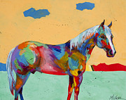 Equine Artist Prints - Pretty Boy Print by Tracy Miller