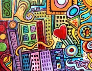 Paintings by Gretzky - Pretty City