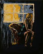 Kathy Peltomaa Lewis - Pretty Girl Sits Alone