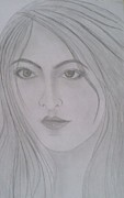 Syeda Ishrat Art - Pretty Girl by Syeda Ishrat