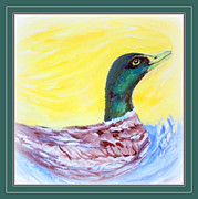 Cathy Turner - Pretty Mallard Duck