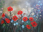 Rhonda Lee - Pretty Poppy Garden