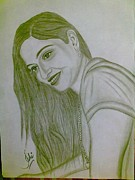 Syeda Ishrat Art - Pretty smile by Syeda Ishrat