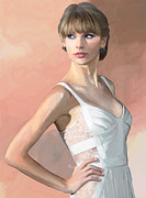 Taylor Swift Painting Prints - Pretty Swift Print by GCannon