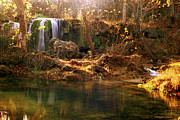 Oklahoma Landscapes Posters - Price Falls 1 of 5 Poster by Jason Politte