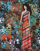 Folk Art Mixed Media - Priceless by Janelle Nichol