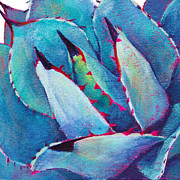 Agave Paintings - Prickly 3 by Athena  Mantle