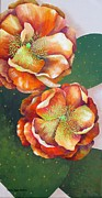 Carol Sabo - Prickly Pear Blossoms
