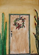 Marcia Weller-Wenbert - Prickly Pear Wreath