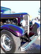 Antique Automobiles Digital Art Framed Prints - Pride And Joy  Framed Print by Glenn McCarthy Art and Photography