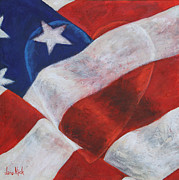 U S Flag Originals - Pride by Jane MIck