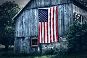 Old Barn Photo Prints - Pride Print by Thomas Schoeller