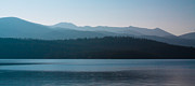 Ranges Prints - Priest Lake at Dawn Print by David Patterson
