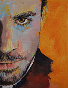Priest Print by Michael Creese