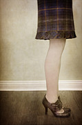 Plaid Skirt Prints - Prim and Proper Print by Margie Hurwich
