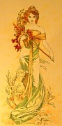 Tony Ruggiero - PRIMAVERA after Mucha