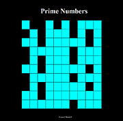 Prime Mixed Media - Prime Numbers  by Louis Boston II