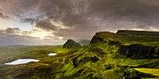 Skye Posters - Primeval Earth - Isle of Skye Panorama Poster by Mark E Tisdale