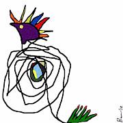 J Burns - Primitive Peacock...