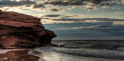 Red Rock Photos - Prince Edward Island Coastline by Matt Dobson
