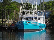 Shrimp Boat Prints - Prince of Peace Print by Michael Thomas