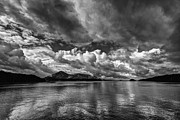 Detailed Originals - Prince Rupert Harbour BW-spring 2013 by Evan Spellman