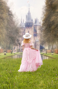 Dancing Girl Photo Posters - Princess And Her Castle Poster by Joana Kruse