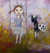 Cindy Riccardelli - Princess and the Goat