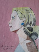 Expensive Drawings - Princess Grace  by Fladelita Messerli-