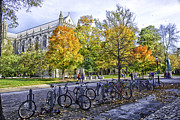 Students Photo Prints - Princeton University Campus Print by Madeline Ellis