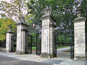 Nassau Framed Prints - Princeton University Main Gate Framed Print by Olivier Le Queinec
