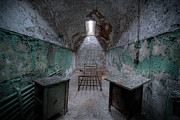 Versprill Framed Prints - Prison Cell at Eastern State Penitentiary Framed Print by Michael Ver Sprill