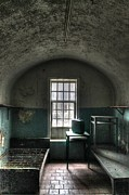 Linders Prints - Prison Cell Print by Jane Linders