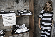 Uniforms Mixed Media Prints - Prison Tour 2 - Fashion Statement Print by Steve Ohlsen