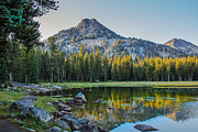 Awesome Prints - Pristine Alpine Lake Print by Robert Bales